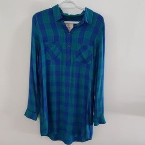 So Shirt Dress size M long sleeve